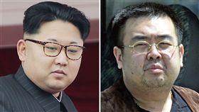 金正恩,金正男,北韓,馬來西亞,刺殺 圖/美聯社/達志影像