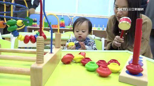 立院托嬰中心揭牌 蘇嘉全抱女娃超緊張