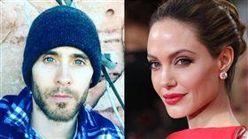 圖/翻攝自Angelina Jolie臉書粉絲團、Jared Leto IG