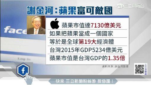 股價衝破135美元 謝金河:蘋果富可敵國