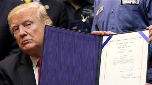 美國總統川普(圖/路透社/達志影像)