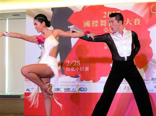 國標,熱舞,跳舞,舞蹈,小嫻,世界,大賽,比賽,2017-廠商提供
