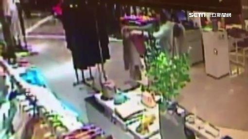 女賊3秒快手偷衣 專櫃尚未進帳先賠錢