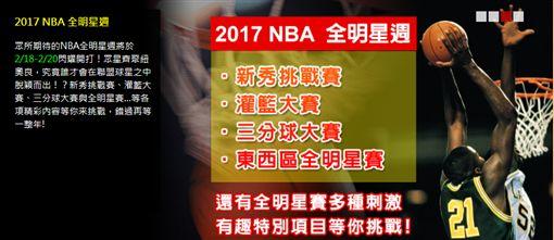 ▲NBA明星賽(圖/翻攝自台灣運彩官網)