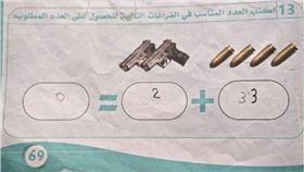 洗腦,課本,ISIS,恐怖份子,坦克,手槍 圖/翻攝自Telegraph