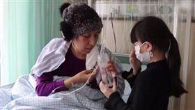 中國大陸,山東,暖文,救母,白血病,增重,骨髓移植,化療 圖/翻攝自新浪新聞