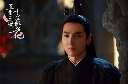 趙又廷的演技獲得讚賞。(圖/翻攝自《三生三世十里桃花》微博)