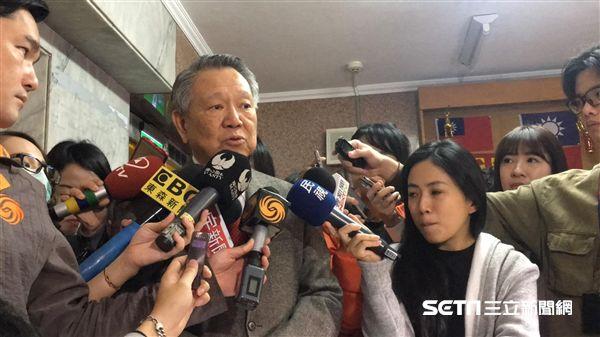 國民黨主席選舉、詹啟賢(圖/記者陳彥宇攝)