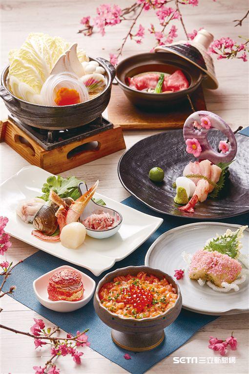 台北喜來登桃山櫻花餐。(圖/台北喜來登提供)