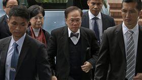香港前行政長官曾蔭權(圖/美聯社/達志影像)