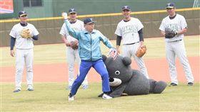 台北市長柯文哲21日出席「天母棒球場完工記者會」 北市府提供