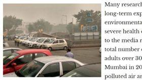 台灣駐印度代表田中光投書當地知名雜誌,提供空汙解決之道。(圖/翻攝自外交廣場網站 www.diplomaticsquare.com)