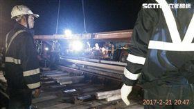 機捷裂縫鋼軌置換完成 將送德國原廠檢視及第三單位調查。(圖/機捷提供)