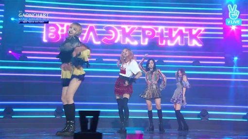 NCT127、BLACKPINK奪GAON年度新人獎! 圖/翻攝自VLIVE