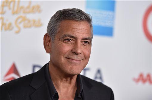 喬治克隆尼,George Clooney,圖/美聯社/達志影像