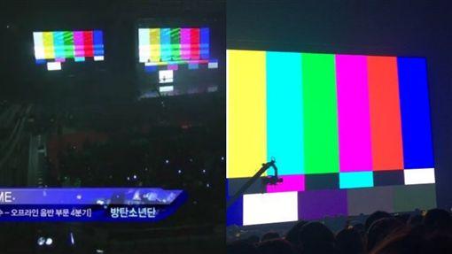 圖翻攝自微博 推特 韓網 BTS BIGBANG