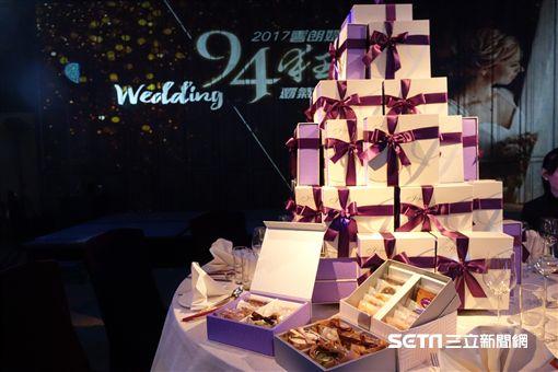 雲朗觀光集團「2017雲朗婚宴94狂」婚宴專案。(圖/雲朗提供)
