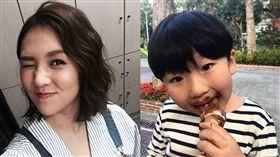 ▲朱芯儀和5歲兒子迪寶(圖/取自朱芯儀臉書)