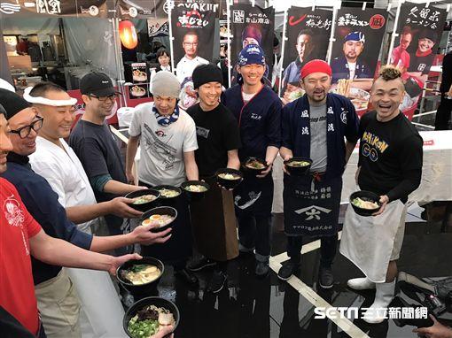 2017日本拉麵祭。(圖/記者簡佑庭攝)
