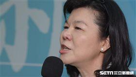 潘維剛宣佈參選國民黨主席記者會 圖/記者林敬旻攝