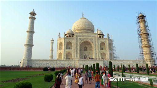 印度,旅遊,泰姬瑪哈陵。(圖/記者簡佑庭攝)
