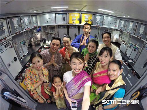 印度,旅遊,機艙,酷航。(圖/酷航提供)