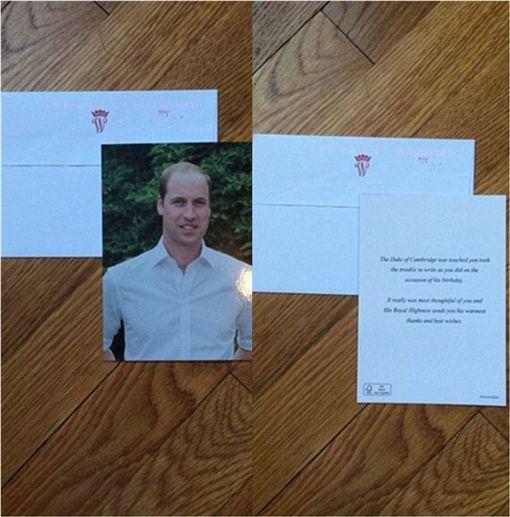 英國,皇室,回信,威廉王子,凱特王妃,查爾斯王子,每日郵報 圖/翻攝自每日郵報