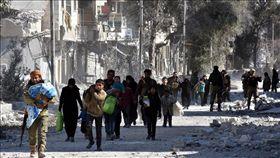 敘利亞,巴卜,自殺式汽車炸彈攻擊(圖/翻攝自Anadolu Agency網站)
