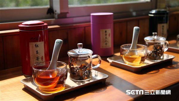 機捷小旅行,竹峰茗茶,茶餐,擂茶,旅遊。(圖/記者簡佑庭攝)