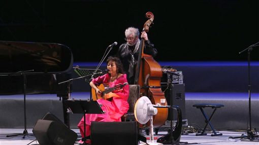 Bossa Nona天后小野麗莎參加「2017繽紛亞洲,湖畔音樂會」 圖/嘉義縣政府提供