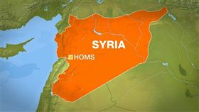 敘利亞,荷姆斯,Homs(圖/翻攝自Twitter)
