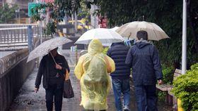 天氣、下雨、冷氣團、氣象/中央社