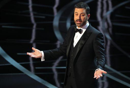 奧斯卡頒獎典禮主持人吉米金默Jimmy Kimmel 圖/路透社