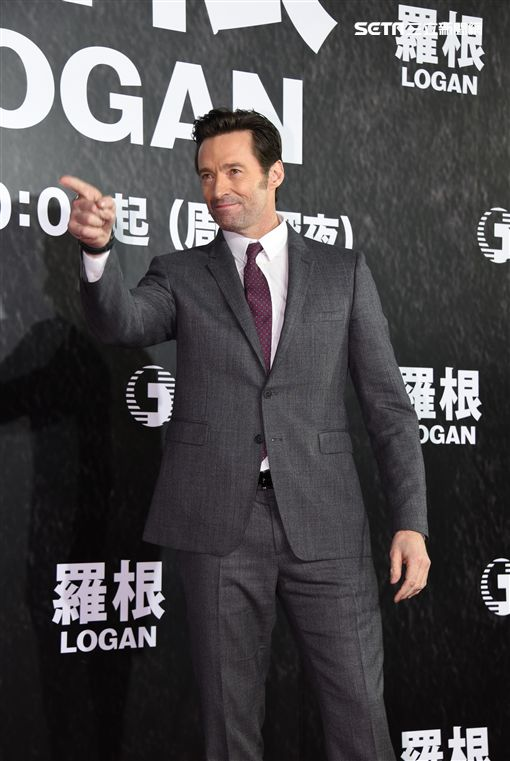 休傑克曼來台出席電影羅根見面會與台灣粉絲相見