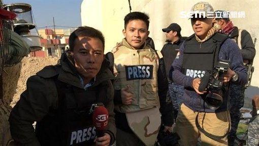 三立記者赴戰地採訪 網友讚:真記者
