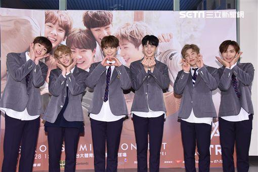 韓國男子團體ASTRO首度訪台舉辦迷你演唱會與台灣歌迷相見