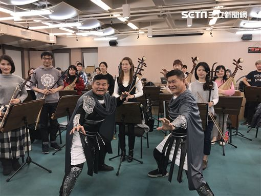澎恰恰,許效舜,台北市立國樂團(圖/記者黃馨慧攝影)