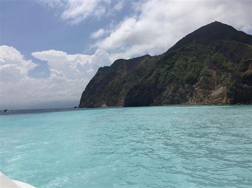 宜蘭龜山島(圖/翻攝自昆凌臉書)
