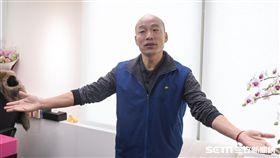 前北農總經理韓國瑜接受pop radio主持人黃光芹專訪 圖/記者林敬旻攝