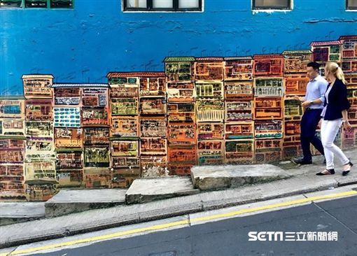 旅遊,香港藝術月,彩繪牆,塗鴉。(圖/港旅局提供)