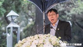 台北市長柯文哲出席228七十週年中樞紀念 圖/記者林敬旻攝