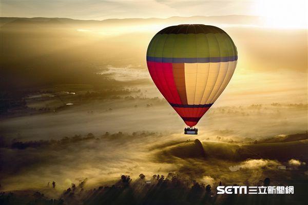 澳洲,旅遊,墨爾本,熱氣球,飛行。(圖/澳大利亞環球熱氣球提供)