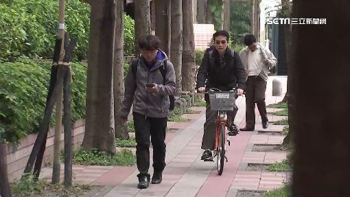單車騎上人行道 北市5月起嚴加取締