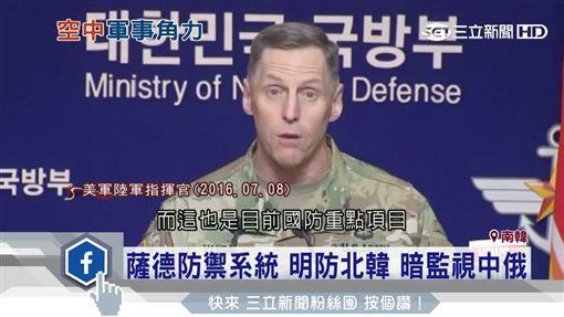 薩德,防禦,北韓,中俄,武力,飛彈,軍事