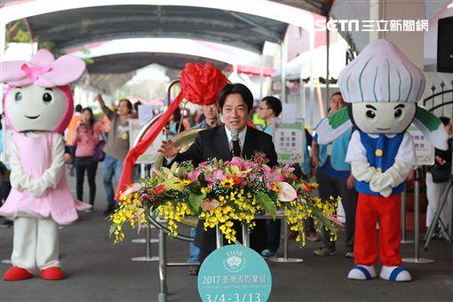 2017台灣國際蘭展登場 賴清德揪嚐「台蘭味」(圖/南市府)