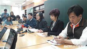 林洲民針對長安西路都更案召開記者會 盧冠妃攝