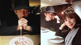「金鐘罩盆栽」蘊含甜蜜告白 賈靜雯為老公驚喜慶生。資料來源:賈靜雯、修杰楷臉書