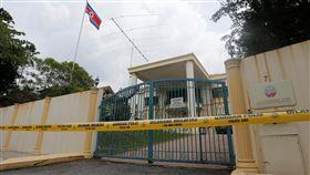 馬來西亞封鎖北韓大使館(圖/路透社/達志影像)