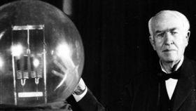 愛迪生,電燈,發明 圖/翻攝自中華網(陸網)