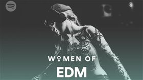 Spotify提供 婦女節 Women in Music & Culture 專頁 Women of EDM